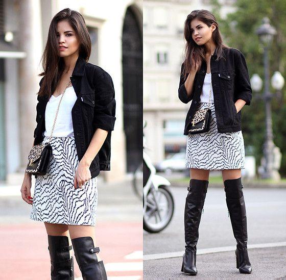 Reiss Boots, Skirt & Bag, Levi's® Men's Trucker Jacket