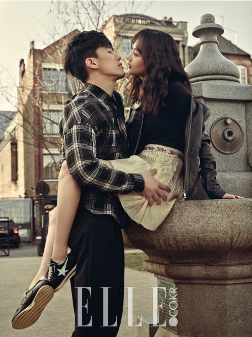 Yoon Seung Ah and Kim Moo Yeol - Elle Magazine March Issue '15