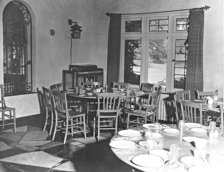Old dining hall located in the stone house - Easter Seals Camp Woodeden