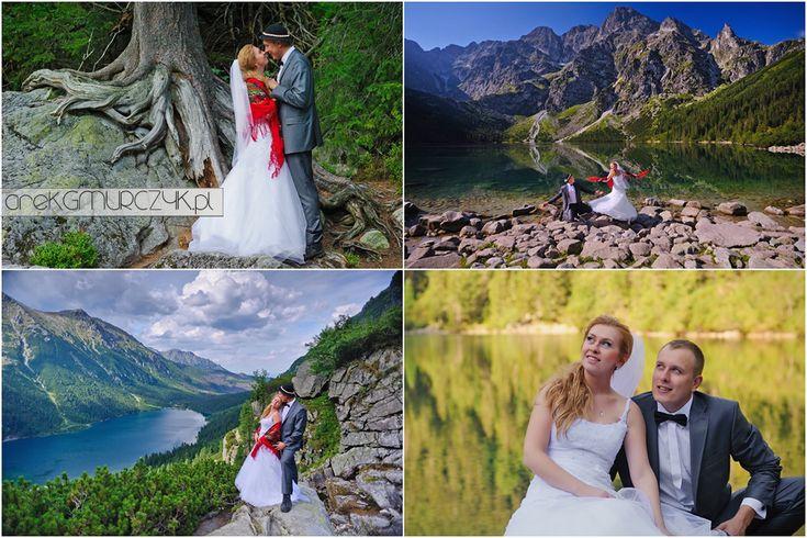 Monika i Tomek nad Morskim Okiem i Czarnym Stawem pod Rysami #tatry #zakopane #morskieoko