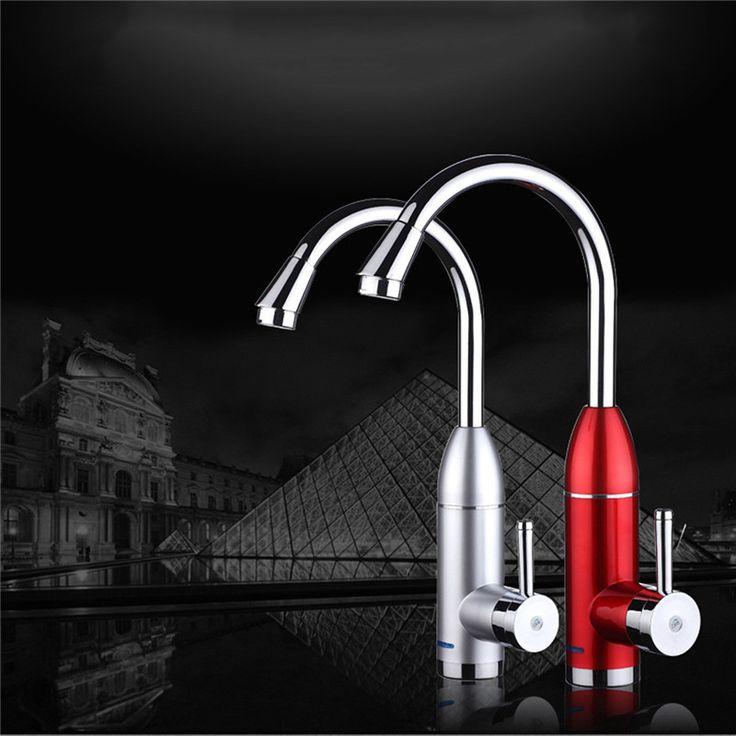 220ボルト50 hz led電気蛇口インスタント水ヒーター浴室キッチンタンクレスホットとコールドタップ新しい