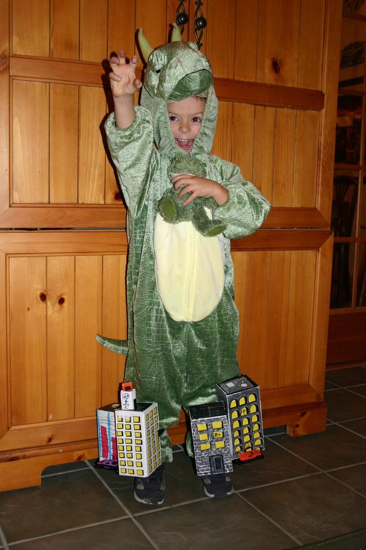 Godzilla Attacks Halloween Costume