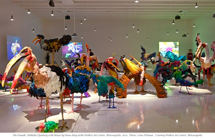 The Parade: Nathalie Djurberg with Music by Hans Berg is on view May 2 to August 26 at the New Museum