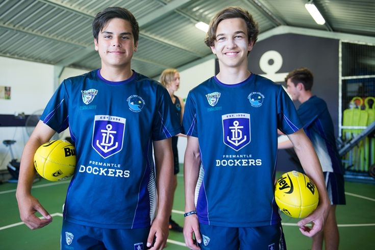 """The Western Australian Football Commission has labelled the Comet Bay College Australian Football Specialist Program as the """"Benchmark"""" of school Specialist Programs in WA. A Department of Education Approved Specialist Sports Program (ASSP), the program provides students with ongoing development in the skills and attributes needed to play Australian Rules Football at the highest level."""