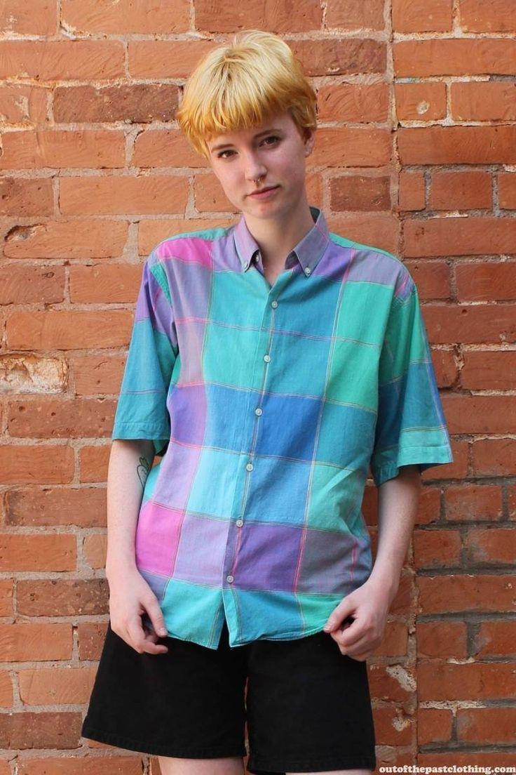 Britches Vintage 1980s Button Up Men's Shirt