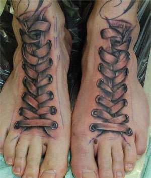 Silly Syndactylism Body Ink and Other Unique Foot Ink #tattoos
