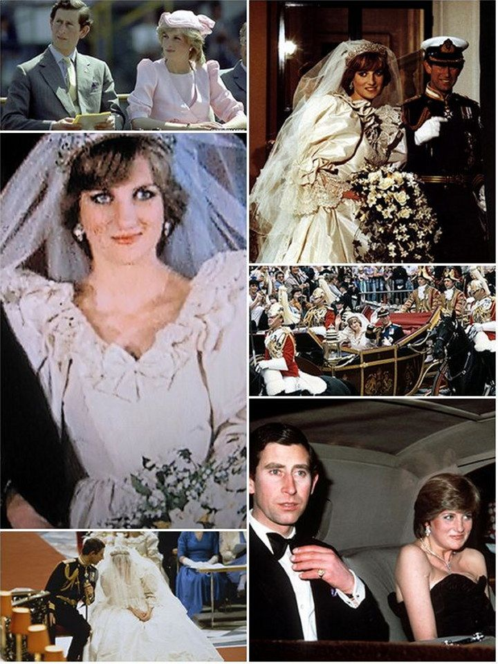 A Royal Wedding History Margaret, Anne and Diana