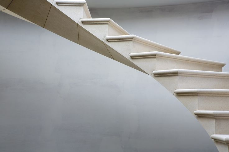 Gallery of See The Engineering Behind This Floating, Award-Winning Stone Helical Stair - 2