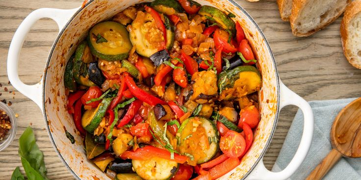 Ratatouille: This classic French countryside dish is chock full of healthy vegetables.