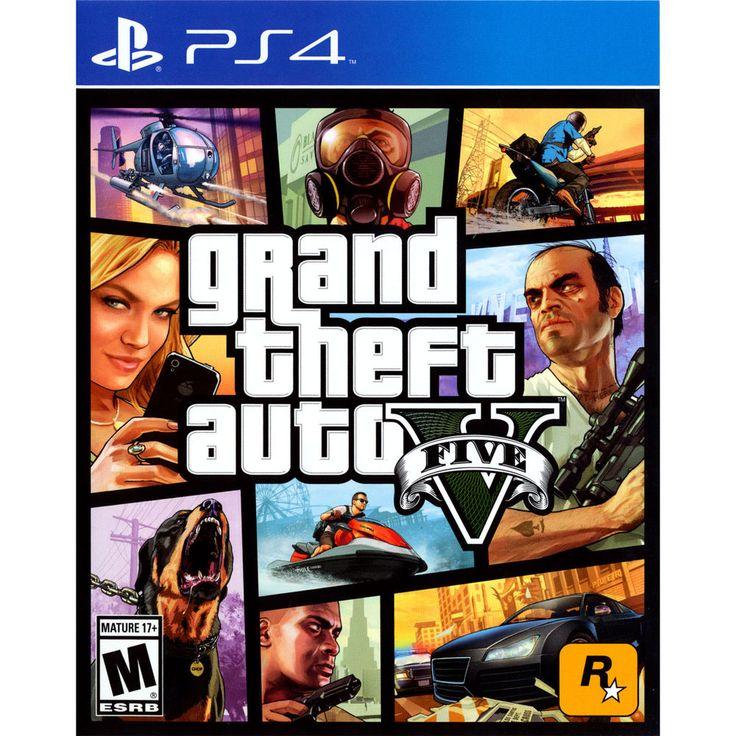 Grand Theft Auto V PS4 [Brand New]