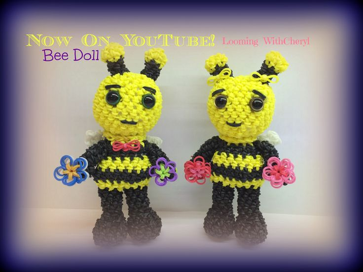 Mickey Amigurumi Bee Bee Tutorial : 242 mejores imagenes sobre Looming WithCheryl YouTube en ...