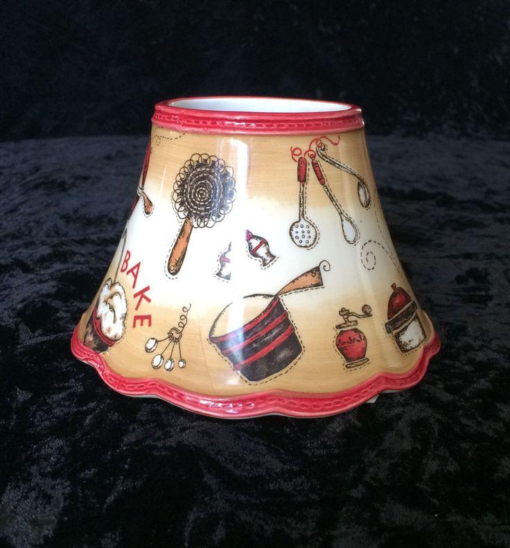 Yankee Candle Jar Shade With Baking Theme Part No 1281506 #YankeeCandle