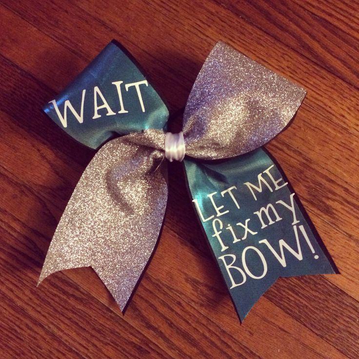 cute cheer bows - 736×736