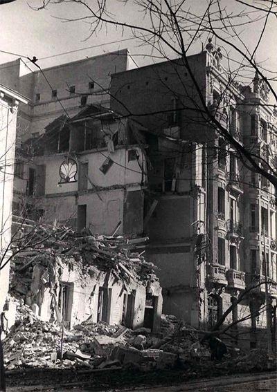 Calle Ferraz. Guerra Civil