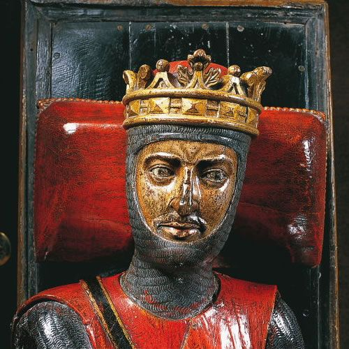 Robert the Magnificent  (1000 – 1035) was the Duke of Normandy from 1027 until his death.  He was the father of William the Conqueror who became in King of England in 1066 and was the great, great grandson of the famous Viking leader and first Duke of Normandy Rollo. My 26th, 27th, 28th (x2) 29th, 30th, 31st & 32nd GGF.