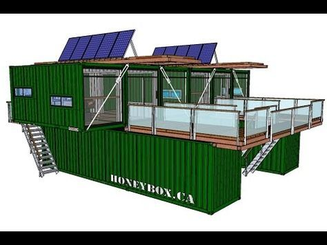 Container house honeybox inc 620240 sky rancher 10 for Maison container 44