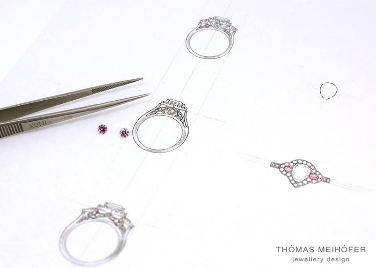Two beautiful intense pink diamonds and what to do with them? It's such a hard life!  If you desperately want your own piece of Australian history, we have four diamond graders on the premises along with two designers so we can walk you through the process of finding and setting your own special piece of pink history!