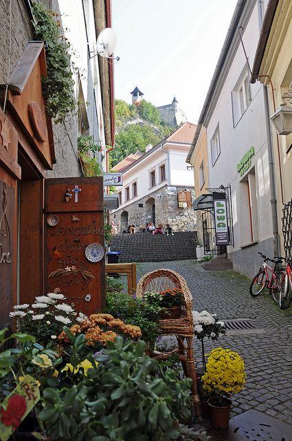 Je to krásny svet - Staré mesto ulice v Trenčíne