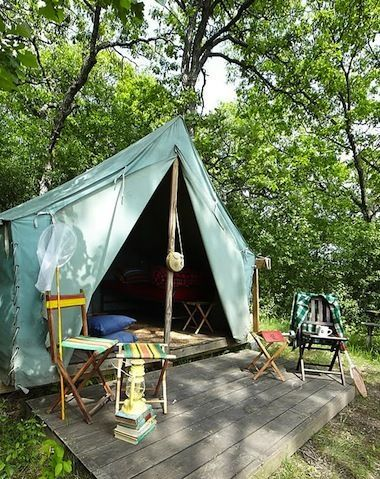 5 Backyard Tents That Make Shady, Lazy Summer Hideaways | Favorite Places & Spaces | Pinterest | Camping, Tent camping and Tent