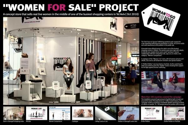 Bronze - Creating the Media, Women For Sale, Atzum, Shalmor Avnon Amichay / Y Interactive Tel Aviv