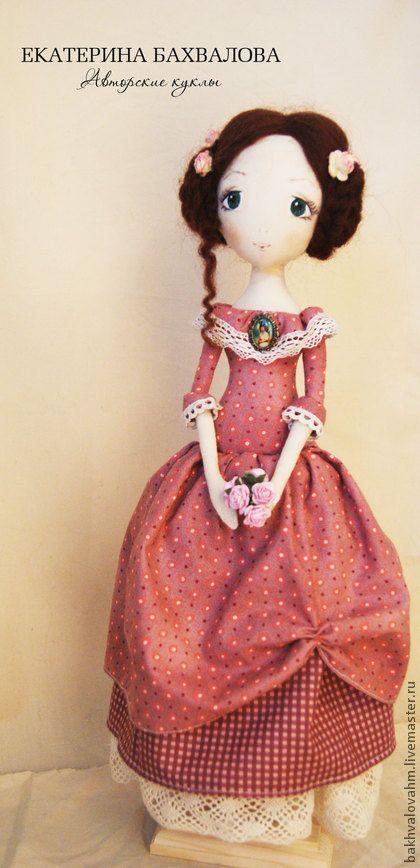 Коллекционные куклы ручной работы. Ярмарка Мастеров - ручная работа Мари (текстильная авторская коллекционная кукла). Handmade.