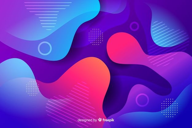 Download Abstract Colorful Flow Shapes Background For Free In 2020