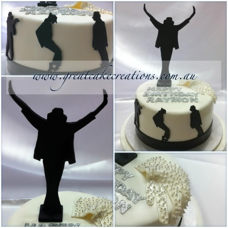 Cake Toppers Birthday Michaels : 135 best images about Michael Jackson Cakes on Pinterest ...