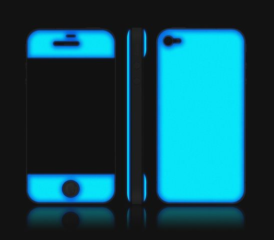 Glowing iPhone Skins Uncovet