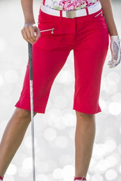 """Campari Daily Sports Ladies HOLIDAY Miracle 24.5"""" Golf Shorts now at one of the top shops for ladies golf apparel #lorisgolfshoppe"""