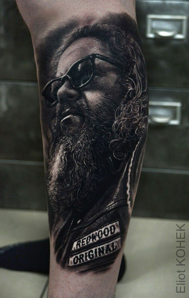 8454bd575 incredibly realistic 3d tattoos by eliot kohek 4 14 Incredibly Realistic 3D  Tattoos by Eliot Kohek