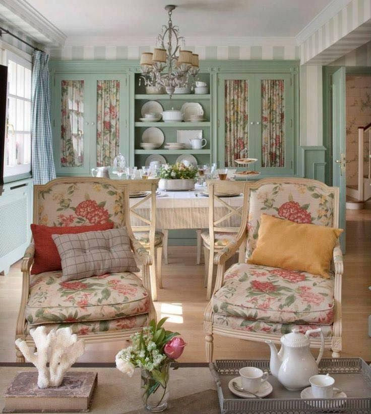 7260 best Vintage Chic  Cottage Style French Country images on - küche vintage look