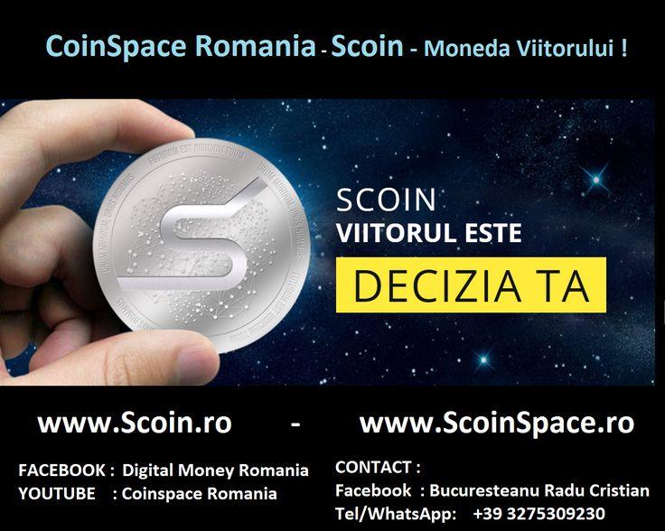 CoinSpace Romania : S-Coin , noul Bitcoin !