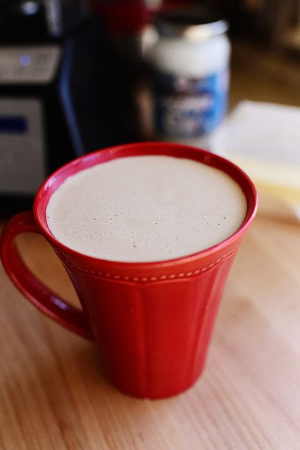 Crazy Coffee (a.k.a Bulletproof Coffee) @thepioneerwoman - You'll have to taste it to believe it!