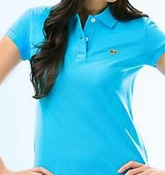 Lacoste Polo Shirts for Lady are on sale. Buy cheap Lacoste polo shirts for lady.$38.0