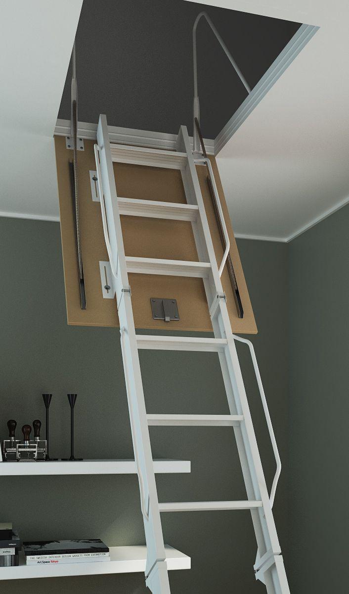 Las 25 mejores ideas sobre escaleras plegables en - Escalera plegable altillo ...