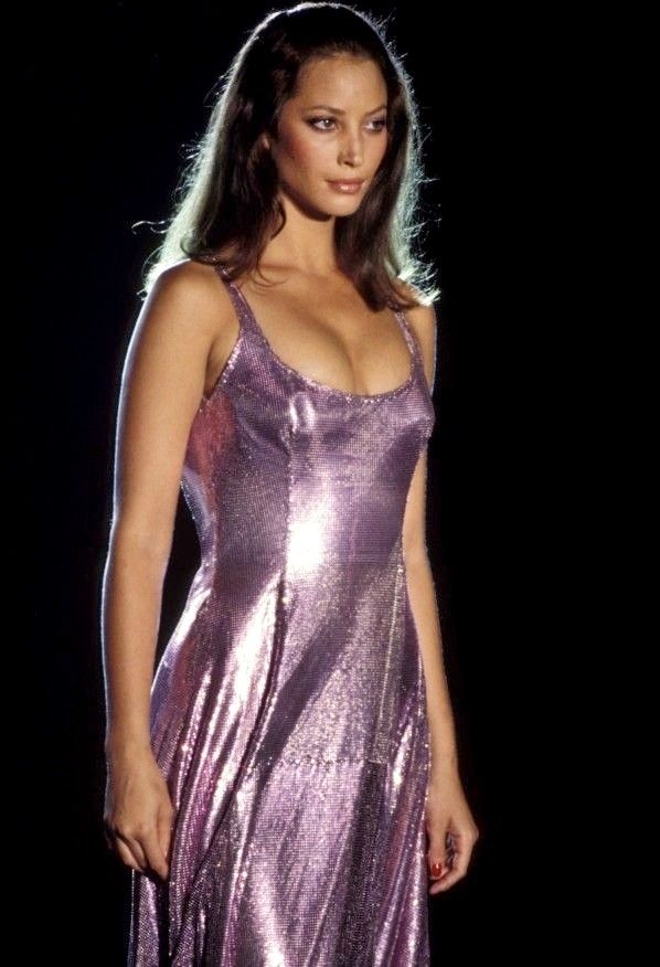 "aestheticjunkyard: ""Christy at Atelier Versace F/W 1994 """