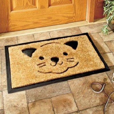 Kitties At Your Front Door Pretty Cute And Funny Cat Doormats To Bring A Small The Face Or Tug Heart Strings Of Any Lover