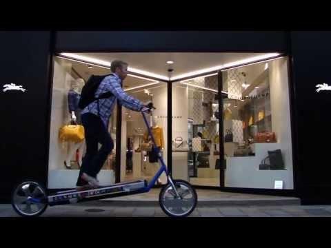 A Treadmill Bike Tour of Tokyo