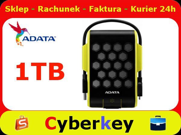 DYSK ZEWNETRZNY 1TB Wodoodporny USB3.0 ADATA