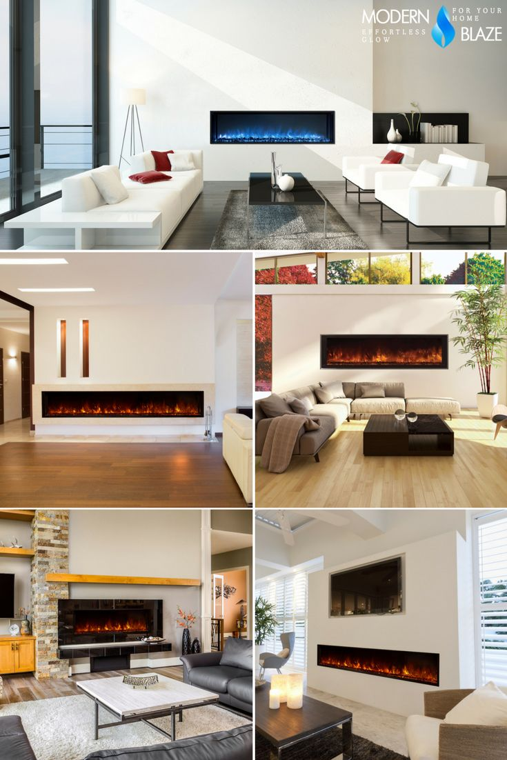 35 best luxury linear fireplaces images on pinterest electric