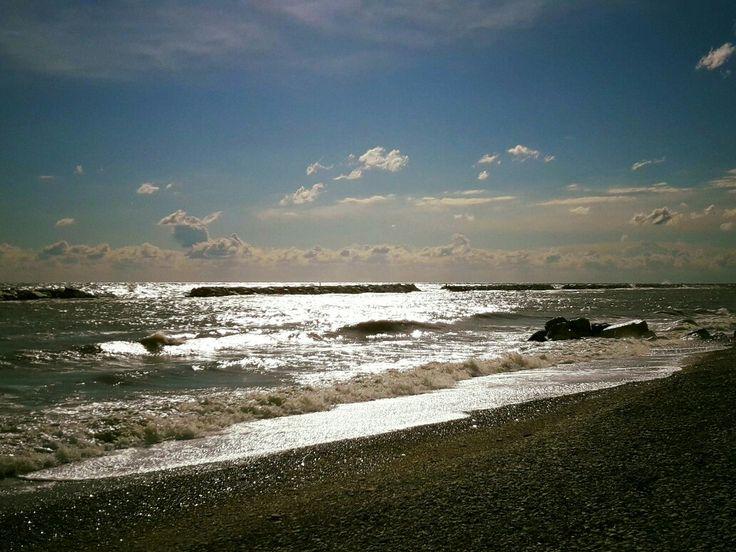 Dopo la tempesta ritorna sempre il sole... #Fano #adriaticsea