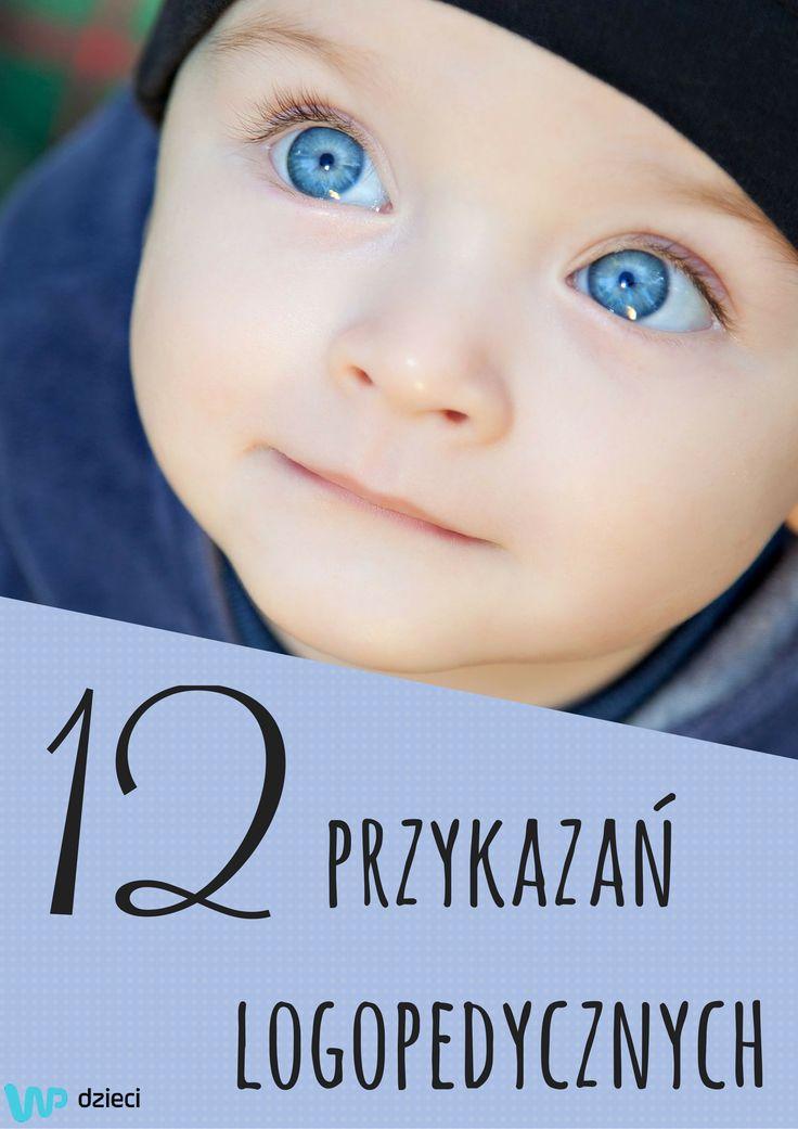 """Profesor Leon Kaczmarek, ojciec polskiej logopedii, zamieścił w swojej książce """"Nasze dziecko uczy się mowy"""" 12 przykazań logopedycznych. #speech #talk #baby #kids #speechtherapist #logopeda #mowa #dziecko"""
