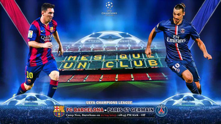 Tickets available online for FC Barcelona v/s Paris SG, UEFA Champions League Quarter Finals 2015.  www.footy-legend.com
