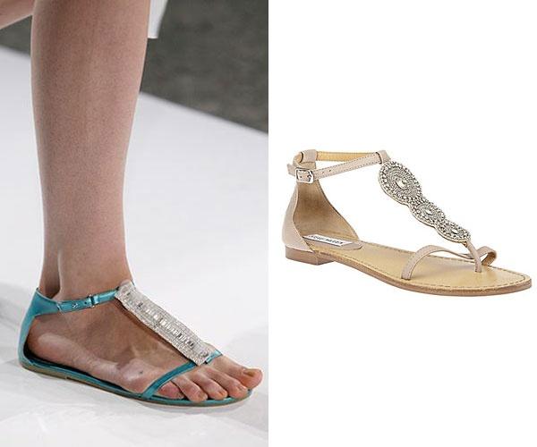 Steve Madden sandal, $100, stevemadden.com.
