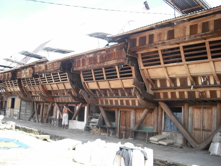 Nias traditional house - Sumatra