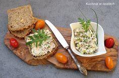 Kuchnia w opałach: CHRZANOWA PASTA KANAPKOWA Z WĘDZONEJ MAKRELI