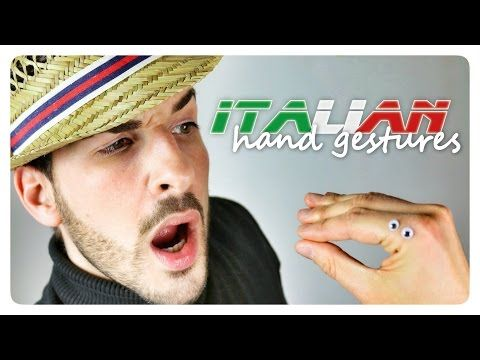 Learn 60 ITALIAN HAND GESTURES with Marco - YouTube