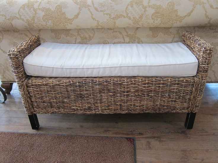 Rattan Bench With A Cushion Furniture Pinterest Benches Rattan And Cushions