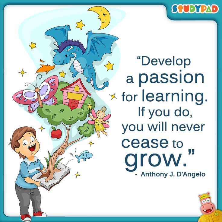 passion regarding learning
