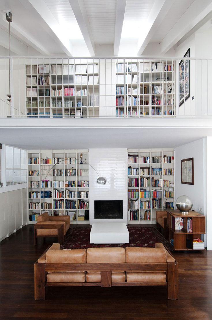 Home Library Loft: Col Di Lana Loft In Milan @ ShockBlast
